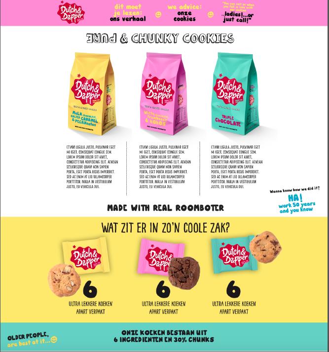 Kikke verpakking voor Dutch & Dapper | nu:amsterdam